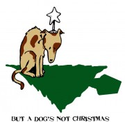 But a dog's not Christmas