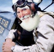 Fighter pilot Santa Mini