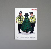 You're Under Arrest on Suspicion of Being a Christmas Tree