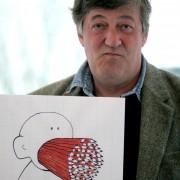 """""""Stuff My Mouth..."""" Stephen Fry"""