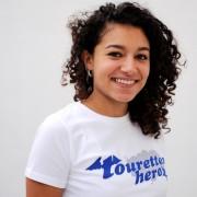 Touretteshero logo skinny t-shirt 2