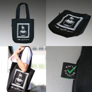 """Wrecked..."" tote bag"