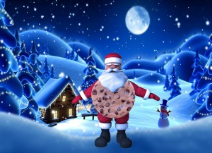 Little known fact, Father Christmas is a biscuit. - Lewis McCardle
