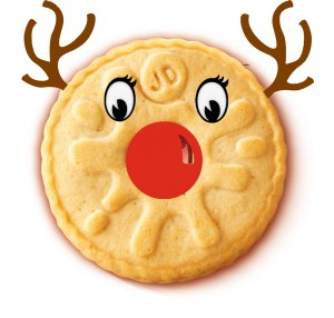 Rudolf the red nosed biscuit. - Lucy Gale