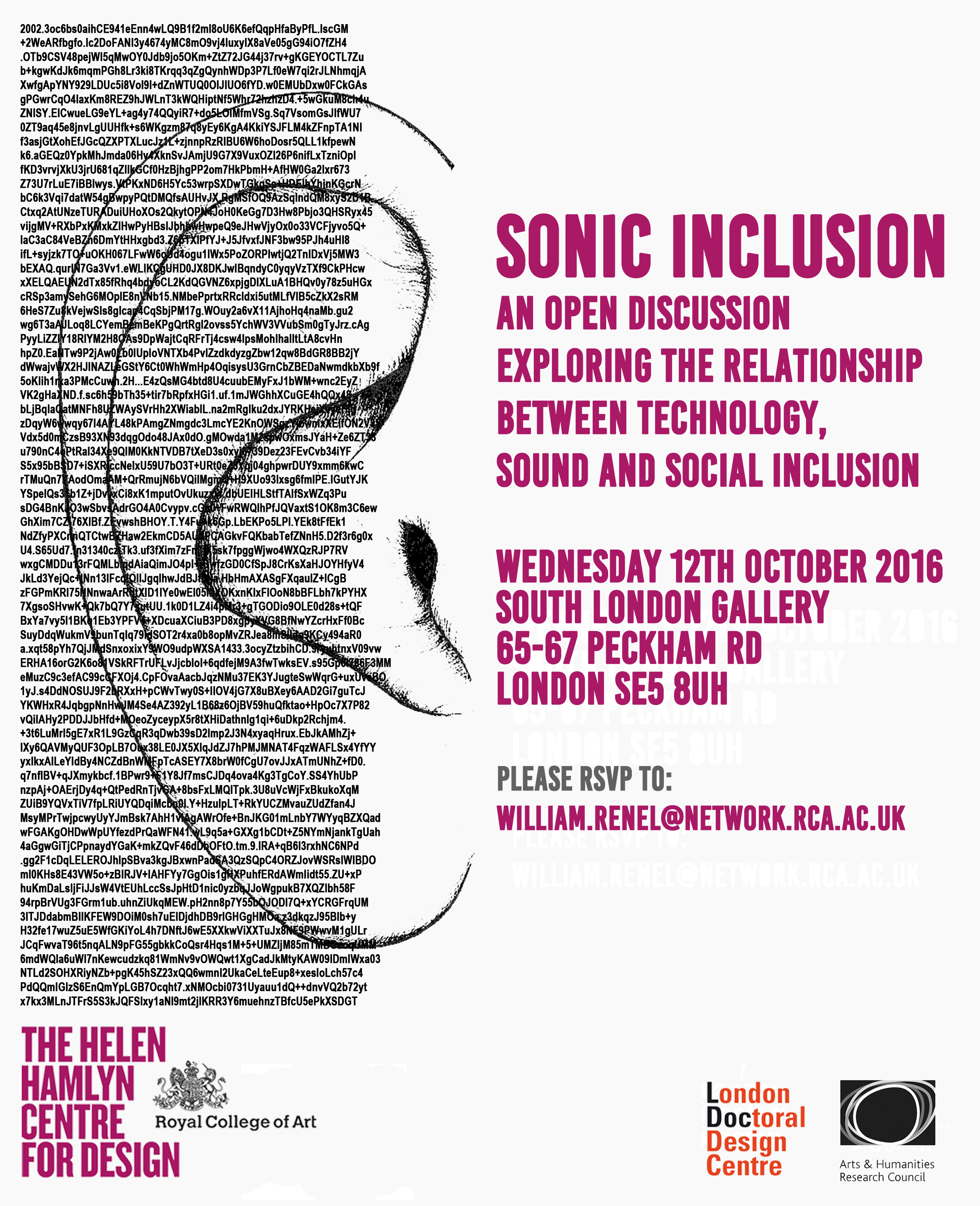 Sonic Inclusion Flyer